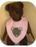 embroidery design machine little bear applique
