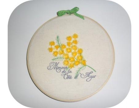 Instant download machine embroidery design carnation flower bouquet