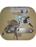 Instant download machine embroidery  zebra ith
