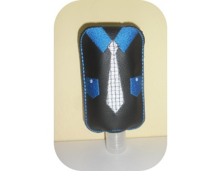 Instant download machine embroidery ith ribbon  Sanitizer Holders Set