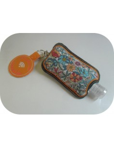 Instant download machine embroidery ith Sanitizer Holders Set  boho