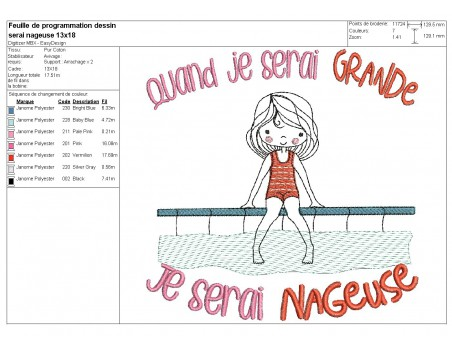 Instant download machine embroidery design  little girl horsewoman