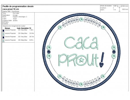 Instant download machine  embroidery design funny kids words panpan cucul