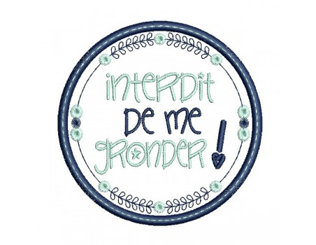 Instant download machine  embroidery design funny kids words it's the one who says who is there