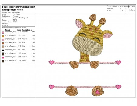 Instant download machine embroidery koala to customize for girl