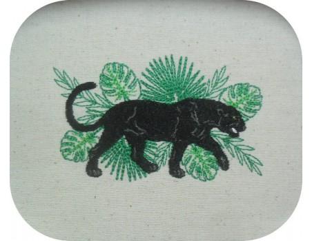 Instant download machine embroidery design giraffe africa