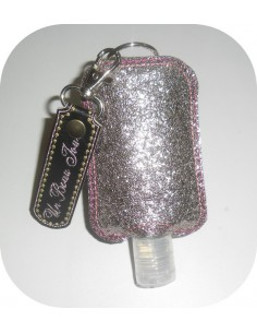 Instant download machine embroidery ith Sanitizer Holders Set  customizable for 4x4 hoop