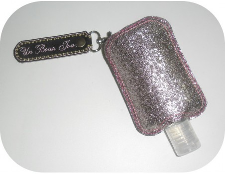 Instant download machine embroidery ith Sanitizer Holders Set  applique for 4x4 hoop