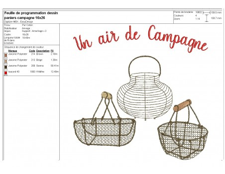 Instant download machine embroidery  design flour and free range eggs