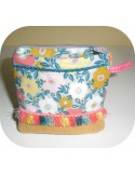 Instant download machine embroidery ith change purse  bohème