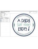 Instant download machine  embroidery design funny kids words you didn't say the magic word