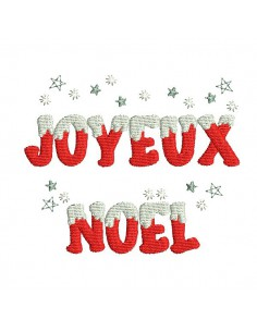 Instant download machine embroidery design  merry Christmas