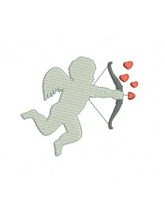 Instant download machine  Embroidery design angel