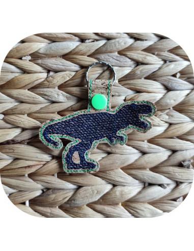 machine embroidery design  dinosaur...