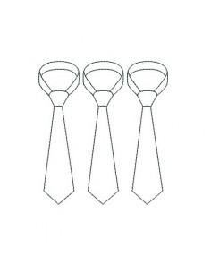 Motif de broderie  redwork cravate
