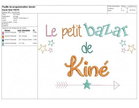machine embroidery design text physiotherapist Bazaar