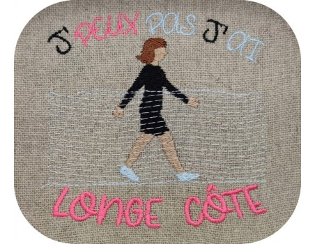 machine  Embroidery design  i can not  along the coast