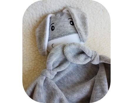 machine embroidery design donkey head  ith