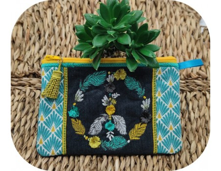 machine embroidery design FSL tassel