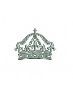 Couronne royale 10x10cm