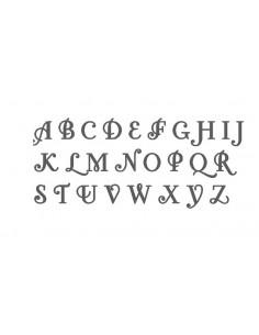 Motif de broderie alphabet Fonteroy