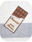 Instant download machine embroidery chocolate