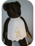 embroidery design silhouette baby