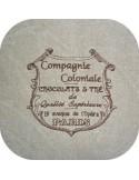 Motif de broderie machine chocolatier