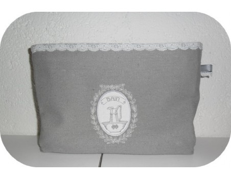 Instant download machine embroidery frame bath