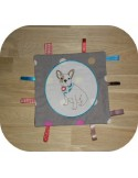 Instant download machine embroidery Bulldog dog applique