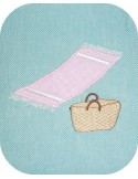 Instant download machine embroidery applique fouta