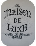 Instant download machine embroidery French Inspired Maison De Luxe Paris