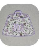 Instant download machine embroidery applique kilogram
