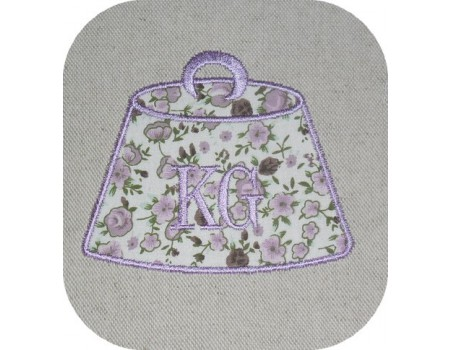 Instant download machine embroidery applique kilogram