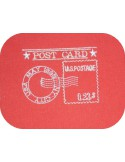 Motif de broderie machine Tampon Post Card  USA