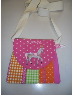 Instant download machine embroidery ITH Child tote bags