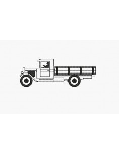 Instant download machine embroidery retro truck