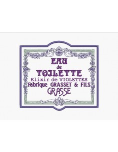 Instant download machine embroidery flowers frame advertising toilet water