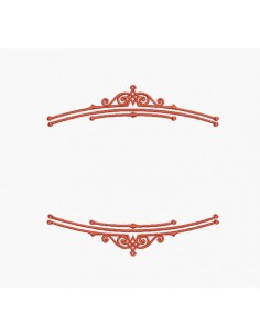 Instant download machine embroidery lace frame