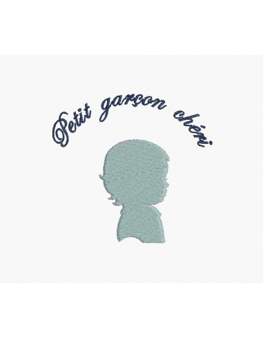 Instant download machine embroidery girl cameo