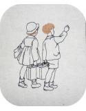 Instant download machine embroidery children