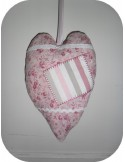 Instant download machine embroidery Heart ITH
