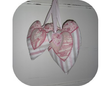 Instant download machine embroidery ith heart