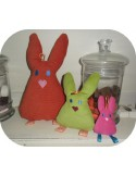 Instant download machine embroidery ith rabbit