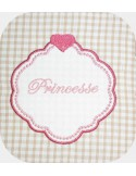 Instant download machine embroidery heart frame