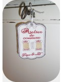 Instant download machine embroidery sewing workshop label 2