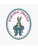 Instant download machine embroidery easter bunny