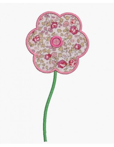 Instant download machine embroidery design ith flowers