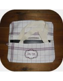 Instant download machine embroidery design applique rectangular frame
