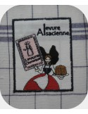 Instant download machine embroidery Alsatian yeast advertising